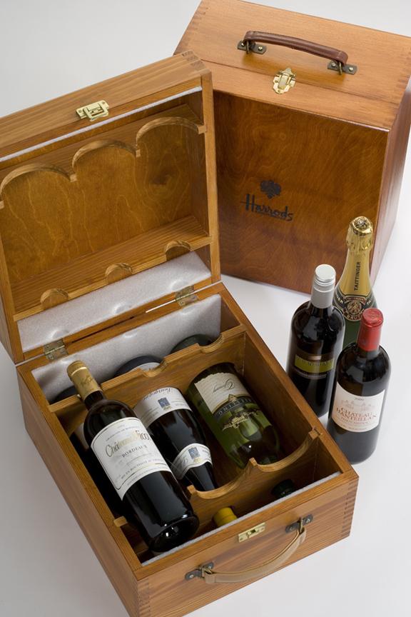 Bespoke Wooden Wine Champagne Boxes Polmac Uk Ltd